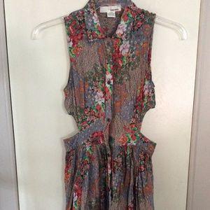 Sans Souci Side Cut Outs Dress